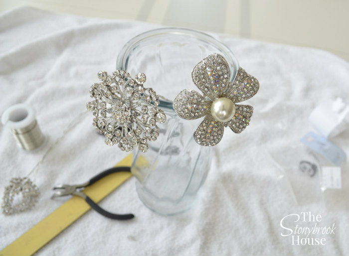 Wired Brooches for Brooch Bouquet
