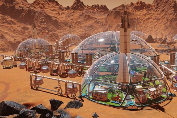 Elon Musk insanoğlunu giderek mahvolan dünyadan Mars'a kaçıracak.