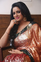 Udaya Bhanu lookssizzling in a Saree Choli at Gautam Nanda music launchi ~ Exclusive Celebrities Galleries 035.JPG