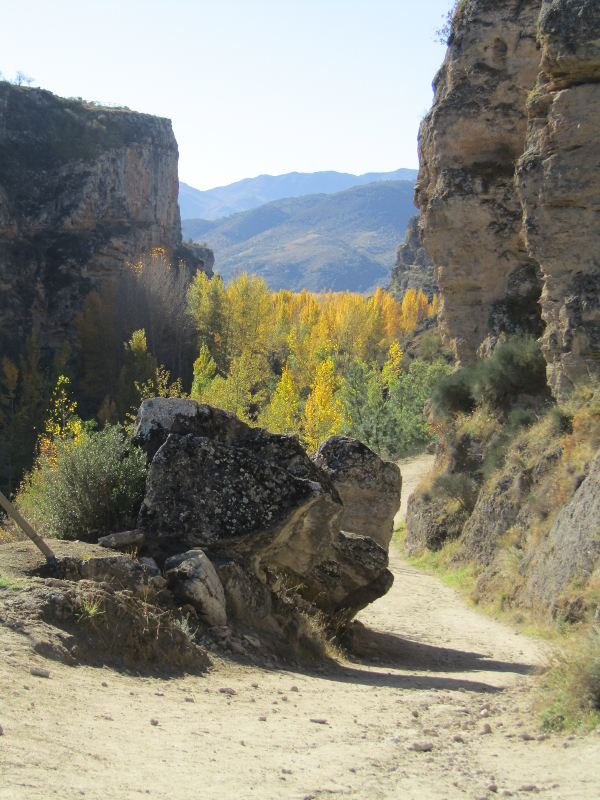 Atrekinthesun attempts autumn ascent of Alhama de Granada Gorge