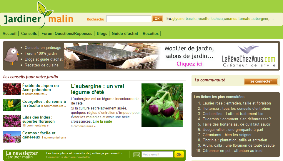 produits jardinage biologique