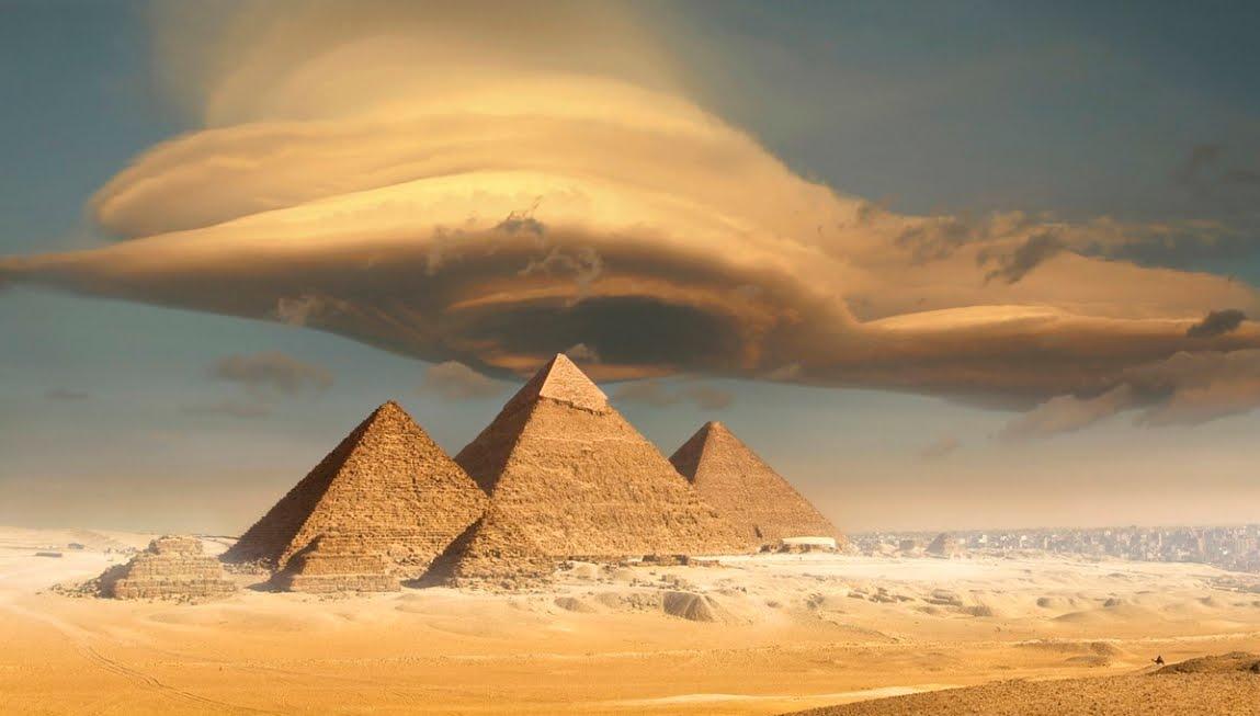 Rivelato il mistero dell'allineamento delle Piramidi di Giza in Egitto
