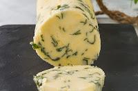 Mantequilla aromatizada - paso a paso -