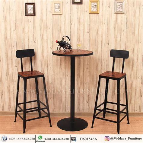 Desain Model Kursi Cafe Kayu Indoor Dan Outdoor 2019