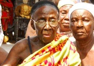 Otumfuo's mother endorses Akufo-Addo
