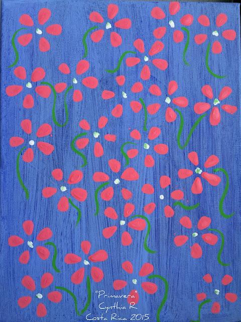 primavera en canvas