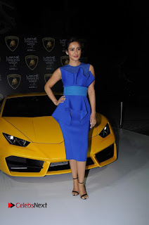 Actress Neha Sharma Latest Stills in Blue Dress at Lakme Fashion Week Summer Resort 2017  0005.jpg