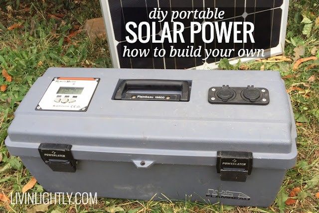 Diy Solar Energy Items 4 Off Grid Projects Handy Amp Homemade