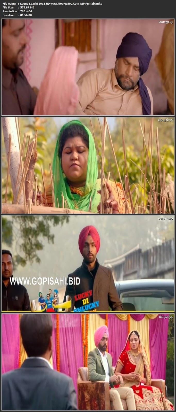 Laung Laachi 2018 Punjabi Full Movie HDTV 720p at movies500.info