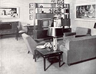 1950s Lounge Room