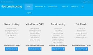 rumahhosting.com adalah penyedia paket web hosting murah