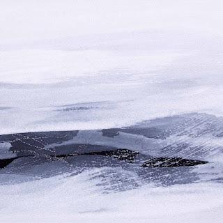 20 x 20 cm acryliquee et crayon sur papier Arches noir, 28 jan 15
