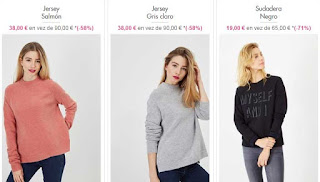 jerseis y sudadera para mujer