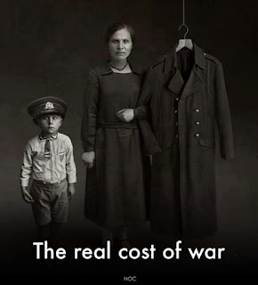 The real cost of war