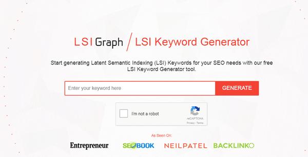 أداة LSI Graph