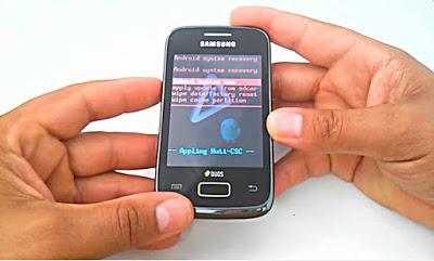 Hard Reset Samsung Galaxy Y Duos GT-S6102B, Como formatar, Desbloquear, Restaurar