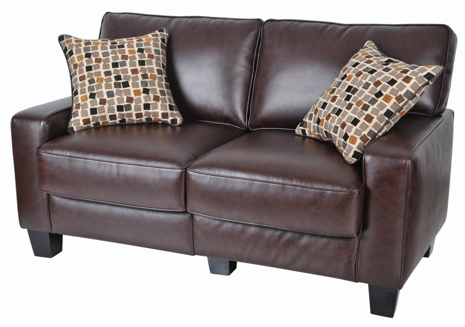 rome faux leather convertible sofa bed brown waterproof cover incontinence couch