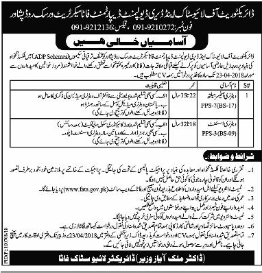 Jobs In Livestock And Dairy Development Department April 2018