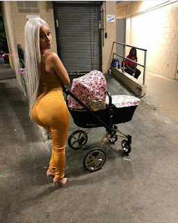 See what Cardi B is serving