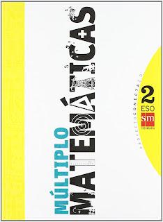 Libro Matemáticas Múltiplo 2º ESO SM Proyecto Conecta 2.0