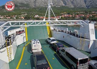 Ferry a Korcula - Croacia
