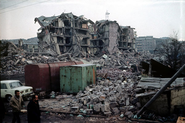 This Week In Armenian History The Spitak Earthquake December 7 1988