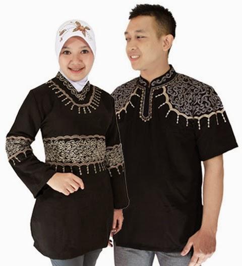 baju lebaran couple wanita gemuk