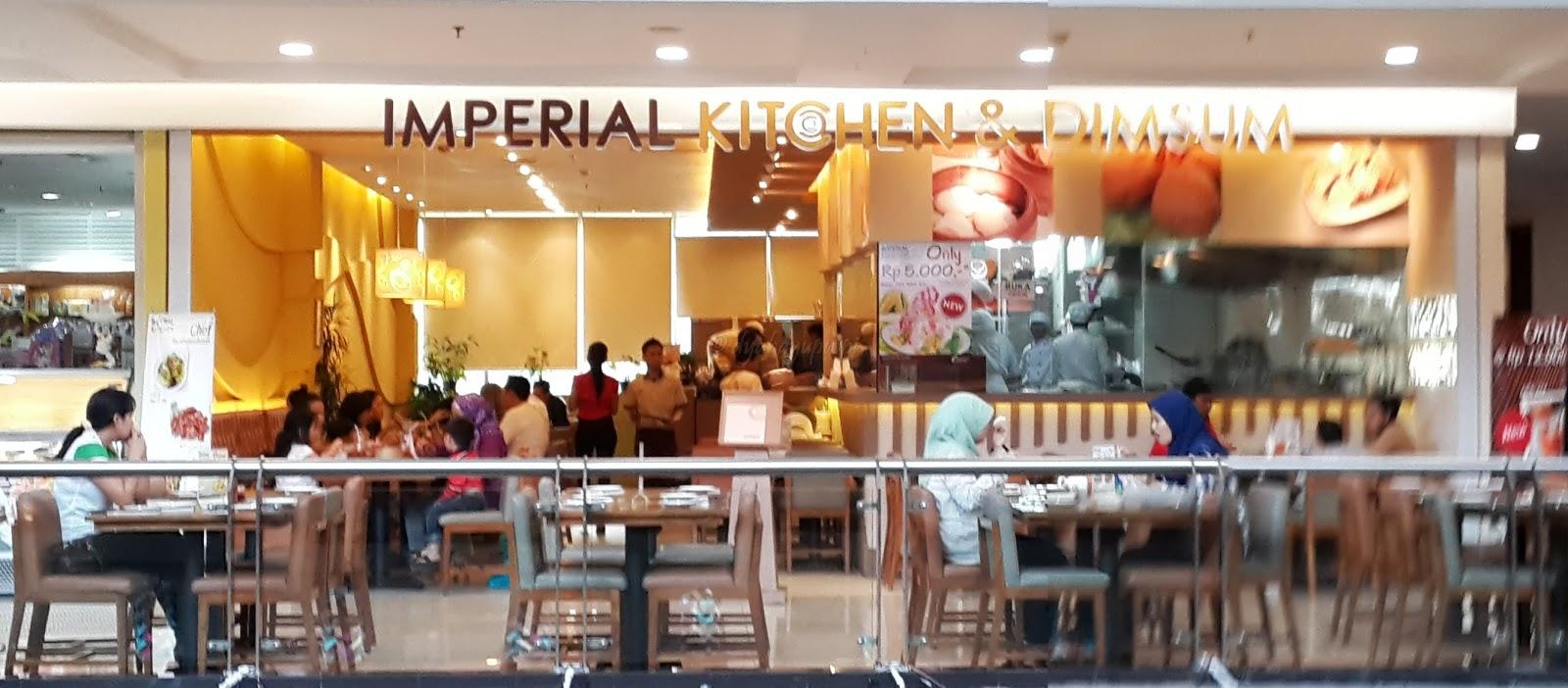 Menu Imperial Kitchen Margo City