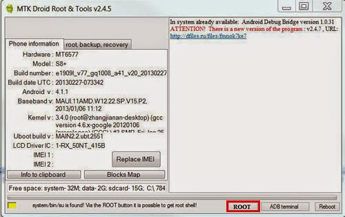 HOW TO CREATE CWM RECOVERY WITH MTK DROID TOOL 1
