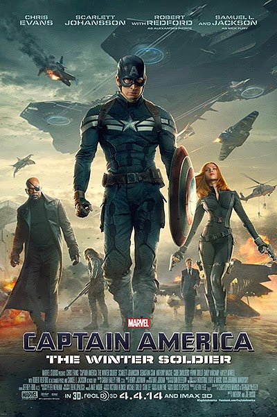 Captain America The Winter Soldier New posters