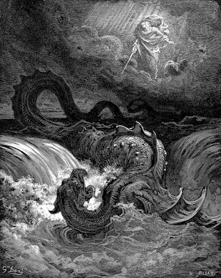 Destruction of Leviathan by Gustave Dore