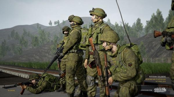 Squad Gameplay