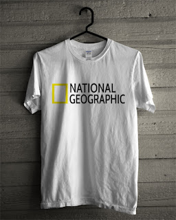 Baju Kaos National Geographic Warna Putih