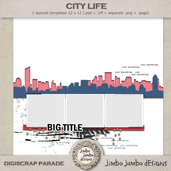 DigiScrap Parade - Jimbo Jambo Designs