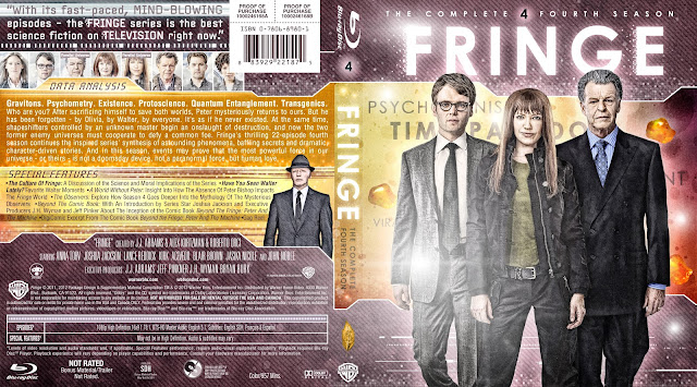 Fringe Season 4 Bluray Cover