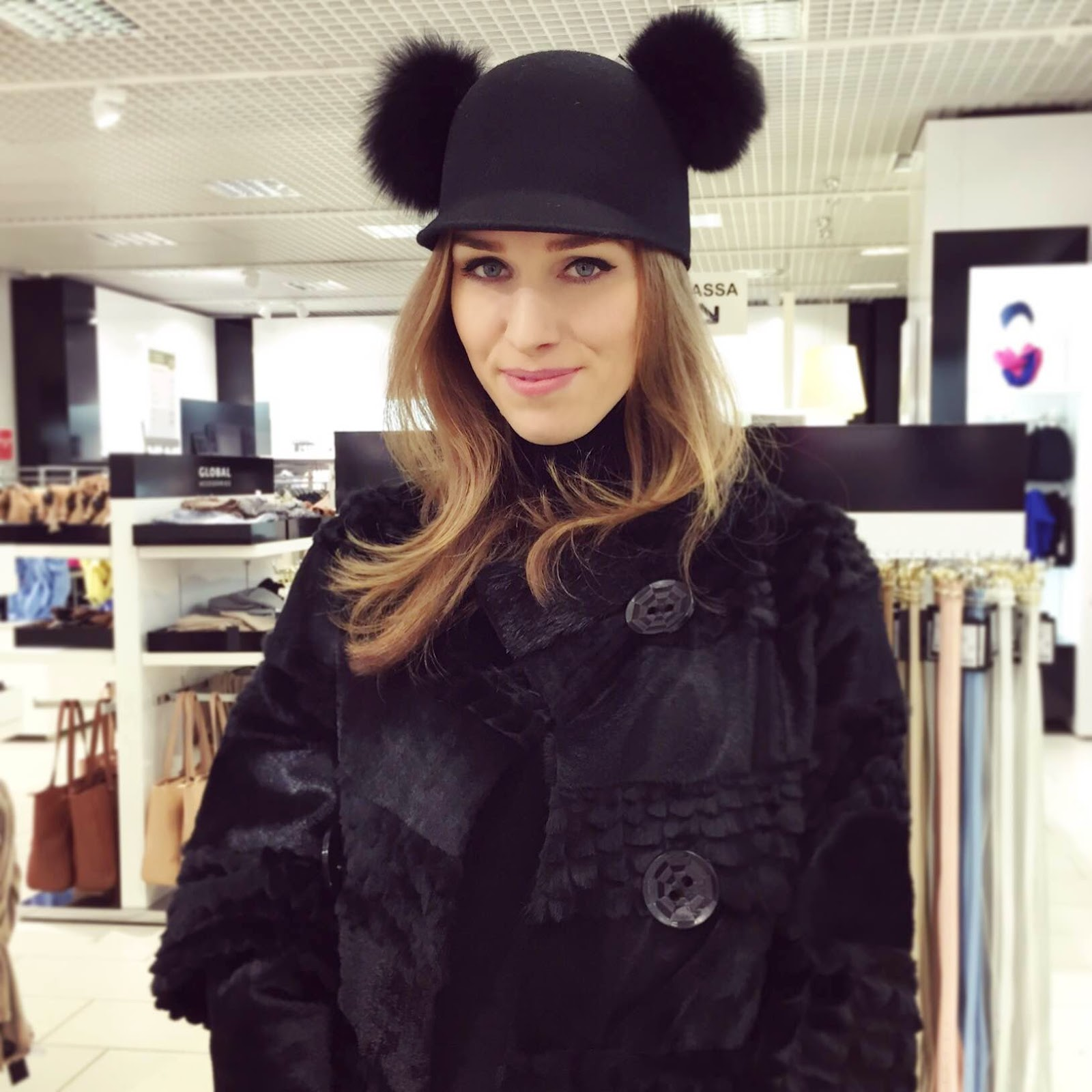 mickey-mouse-fur-hat-black-fur-coat