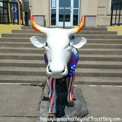 Space Cow from the Cow Parade in Steelton Pennsylvania
