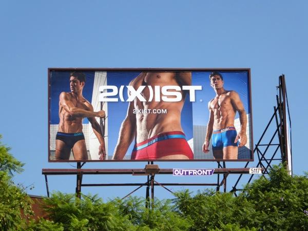2Xist Barcode underwear billboard