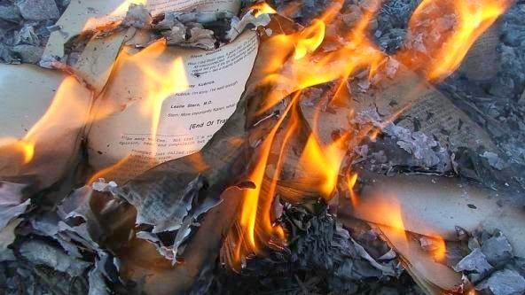 Resultado de imagen de hoguera libros