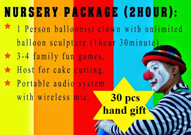 best party planner service, clown service selangor, clown service melaka