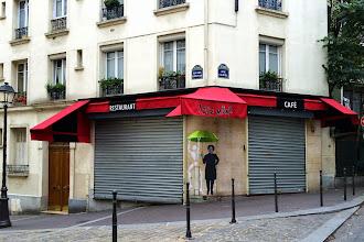 Sunday Street Art : Le Mouvement et Jérôme Mesnager - rue Clavel - Paris 19
