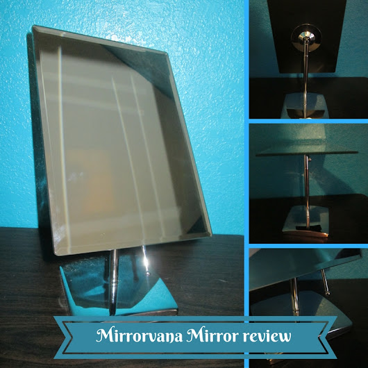 Mirrorvana Rectangular Makeup Mirror – 9.8″ x 7″