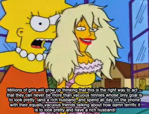 Pop N Politics: Lisa Simpson: Feminist Icon  Pop N Politics:...
