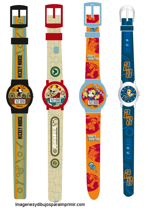 Relojes de mickey mouse