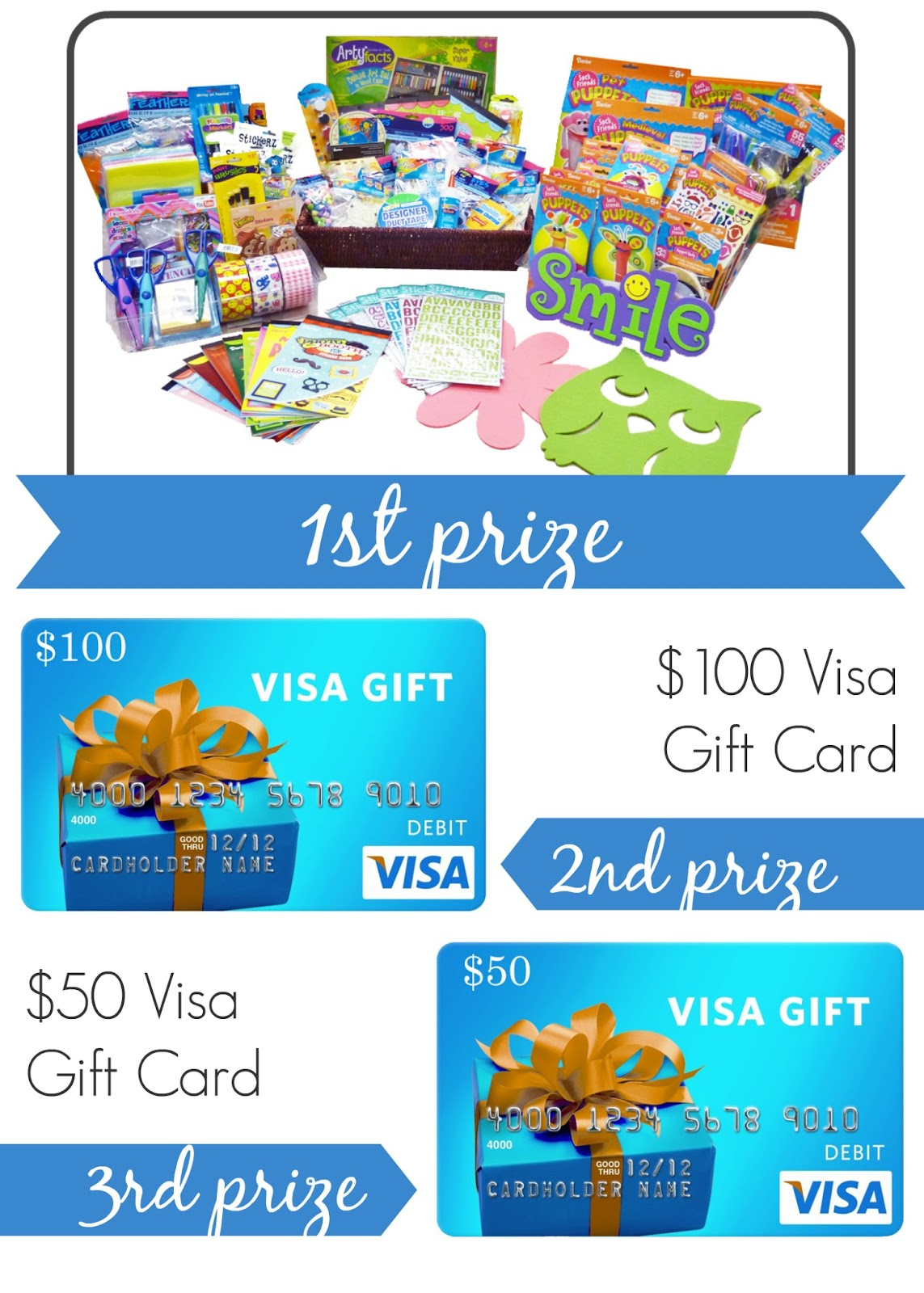WIN over $300 in Crafting Supplies or a Gift Card! | #kidscrafts #foamies #spon http://goo.gl/mZeblu