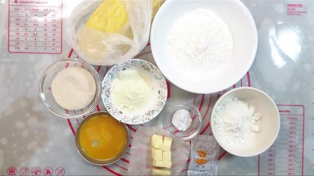 南瓜甜甜圈做法:檸檬糖霜口味