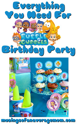 free bubble guppies party printables