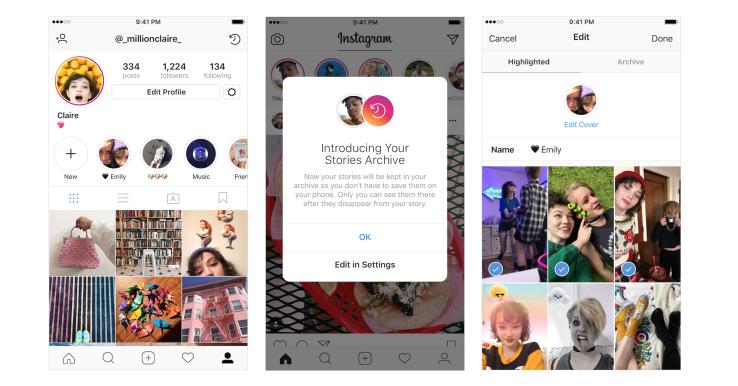Como Archivar tus historias favoritas de Instagram de manera Correcta