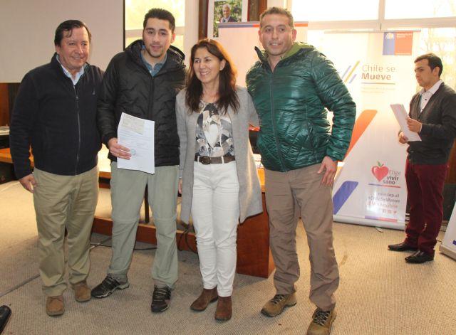 Organizaciones deportivas reciben recursos FONDEPORTE en Osorno