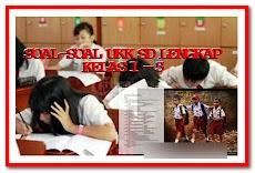 Contoh Soal UKK Kelas 1 2 3 4 5 SD Format Words